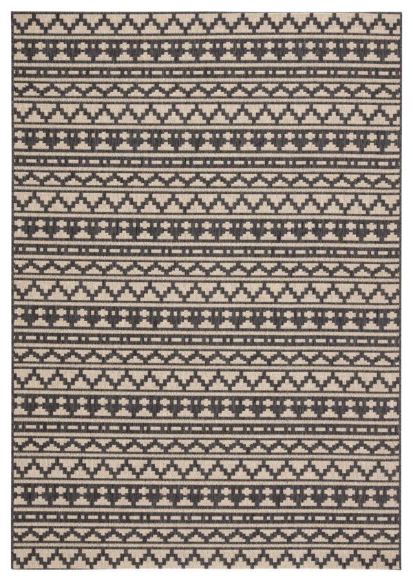 """Jaipur Living Killick Indoor/ Outdoor Tribal Gray/ Beige Area Rug (2'X3'7"""")"""