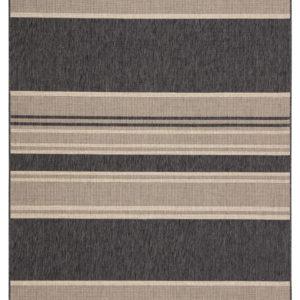 """Jaipur Living Pilot Indoor/ Outdoor Stripes Gray/ Beige Area Rug (2'X3'7"""")"""