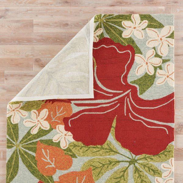 Jaipur Living Luau Indoor/ Outdoor Floral Multicolor/ Blue Area Rug (2'X3')