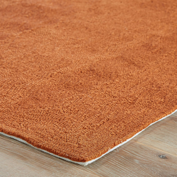 Jaipur Living Bough Out Indoor/ Outdoor Floral Orange/ Taupe Area Rug (2'X3')