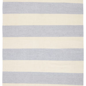 Jaipur Living Remora Indoor/ Outdoor Stripes Gray/ Ivory Area Rug (2'X3')