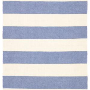 Jaipur Living Remora Indoor/ Outdoor Stripes Blue/ Ivory Area Rug (2'X3')