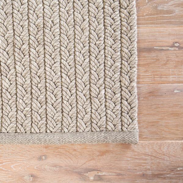 Jaipur Living Iver Indoor/ Outdoor Solid Gray Area Rug (2'X3')