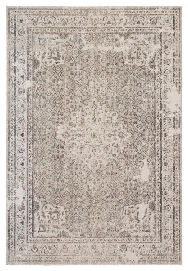 Jaipur Living Langley Indoor/ Outdoor Medallion Gray/ Blue Area Rug (2'X3')