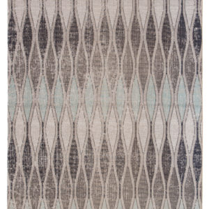 Jaipur Living Norwich Indoor/ Outdoor Geometric Gray/ Blue Area Rug (2'X3')