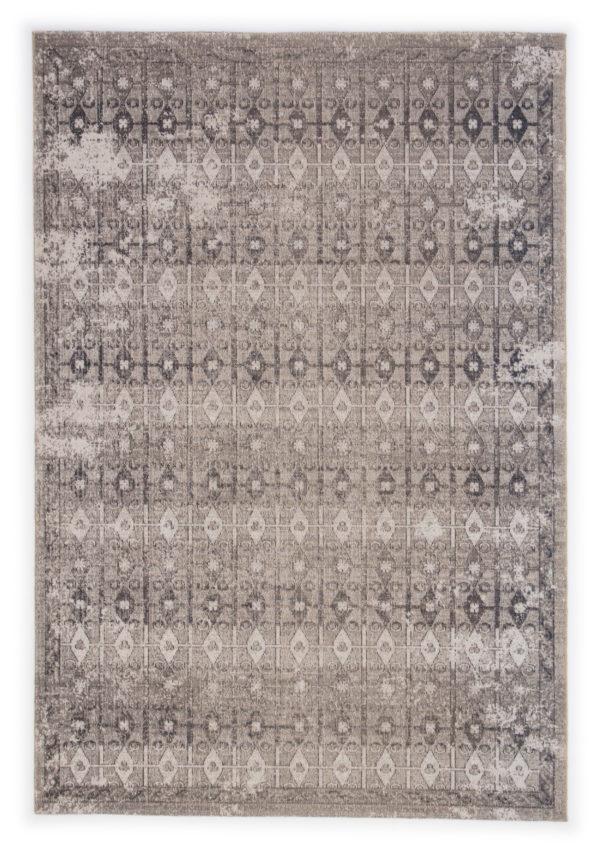 Jaipur Living Giralda Indoor/ Outdoor Trellis Gray/ Ivory Area Rug (2'X3')