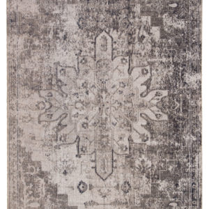 Jaipur Living Isolde Indoor/ Outdoor Medallion Gray/ Ivory Area Rug (2'X3')