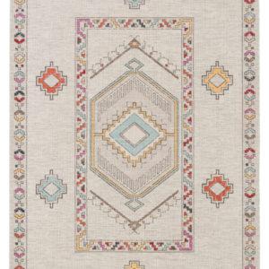 Jaipur Living Tov Indoor/ Outdoor Medallion Light Gray/ Multicolor Area Rug (2'X3')