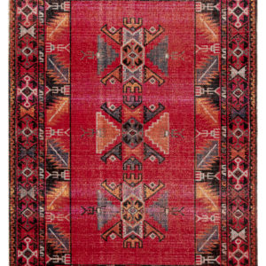 Jaipur Living Paloma Indoor/ Outdoor Tribal Red/ Black Area Rug (2'X3')