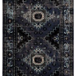 Jaipur Living Westlyn Indoor/ Outdoor Medallion Black/ Blue Area Rug (2'X3')