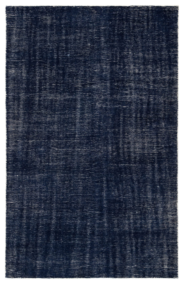 Jaipur Living Limon Indoor/ Outdoor Solid Blue/ White Area Rug (2'X3')