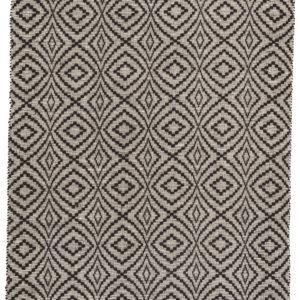 Jaipur Living Flume Indoor/ Outdoor Trellis Black/ Cream Area Rug (2'X3')