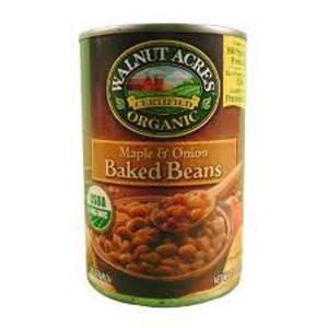 Walnut Acres Maple Onion Baked Beans (12x15 Oz)