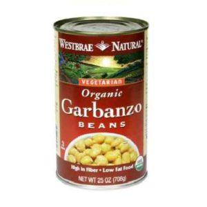 Westbrae Foods Garbanzo Beans (12x25 Oz)