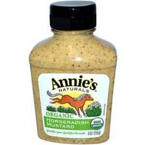 Annie's Naturals Horseradish Mustard (12x9 Oz)