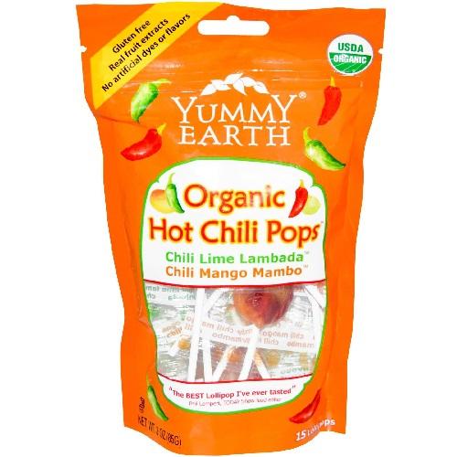 Yummy Earth Hot Chili Lollipop (6x3 Oz)