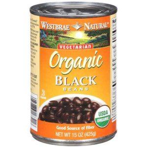 Westbrae Foods Black Beans Fat Free (12x15 Oz)