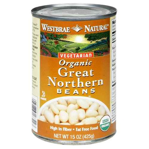 Westbrae Foods Great Northern Beans (12x15 Oz)