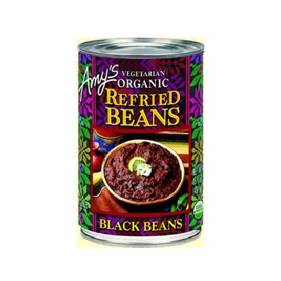 Amy's Kitchen Refried Black Beans (12x15.4 Oz)
