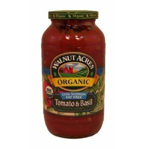 Walnut Acres Low Salt Tomato & Basil Pasta Sauce (12x25.5 Oz)