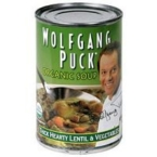 Wolfgang Puck Hearty Lentil & vegetable Soup (12x14.5 Oz)