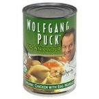 Wolfgang Puck Chicken Soup With Egg Noodle (12x14.5 Oz)