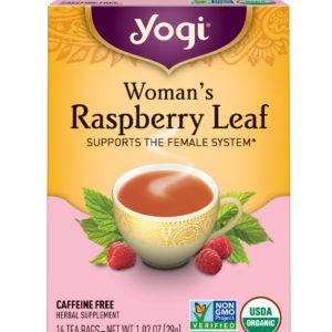 Yogi Woman's Raspberry Leaf Tea (6x16 Bag)