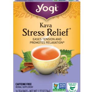 Yogi Kava Stress Relief Tea (6x16 Bag)