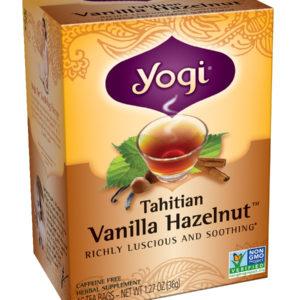 Yogi Tahitian Vanilla Hazelnut Tea (6x16 Bag)