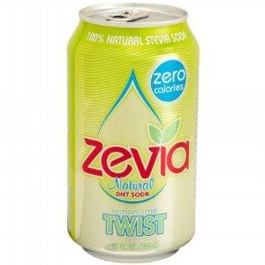 Zevia Natural Twist Diet Soda (4x6x12 Oz)