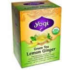 Yogi Green Lemon Ginger Tea (6x16 Bag)