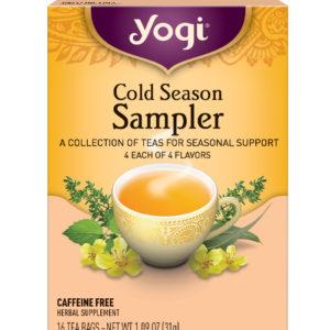 Yogi Cold Sample Tea (6x16 Bag)