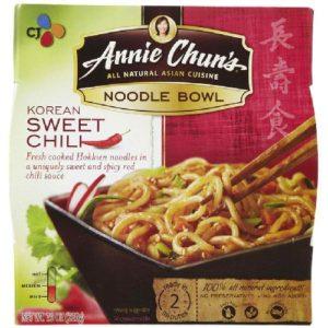 Annie Chun's Korean Sweet Chili Noodle Bowl (6x8.4 Oz)
