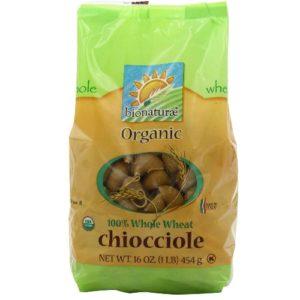 Bionaturae Chiocciole Whole Wheat Pasta (12x16 Oz)