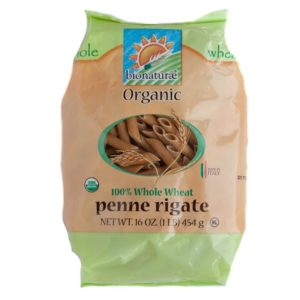 Bionaturae Penne Rigate Whole Wheat Pasta (12x16 Oz)