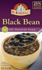 Dr. McDougall's Black Bean Ready to Serve Soup (6x18.3 Oz)