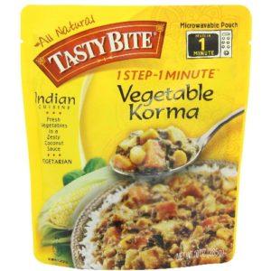 Tasty Bite vegetable Korma Entree (6x10 Oz)