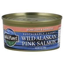 Wild Planet Wild Alaskan Pink Salmon(12x6 Oz)