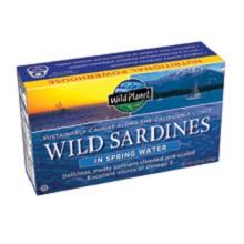 Wild Planet Wild Sardines in Spring Water (12x4.375 Oz)
