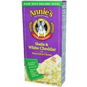 Annie's Shells and White Cheddar (12x6 Oz)