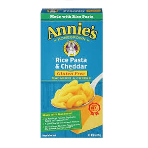 Annie's Cheddar Rice Pasta (12x6 Oz)