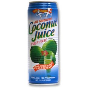 Amy & Brian Natural Coconut Juice Pulp Free (12x17.5 Oz)