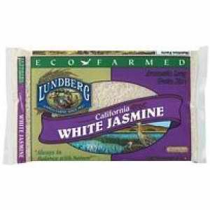 Lundberg Farms Eco-Fr Jasmine White Rice (1x25lb)