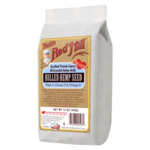 Bob's Hemp Seed Hulled ( 4x12 Oz)
