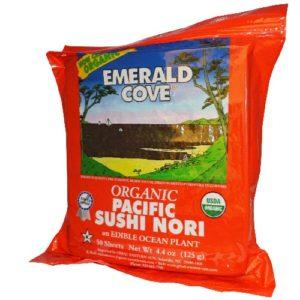Emerald Cove Sushi Nori Toasted (4x50 SHT)