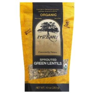 TruRoots Green Sprouted Lentil (6x10 Oz)