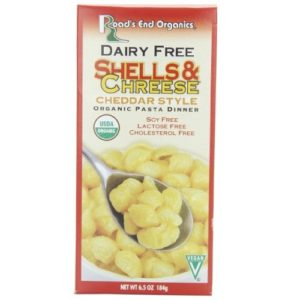 Road's End Organics Shell & Chreese Dairy Free (12x6.5 Oz)