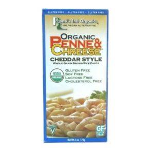 Road's End Organics Org Brown Rice Penne & Chreese Gluten Free (12x6 Oz)