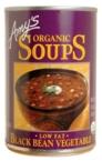 Amy's Kitchen Low Fat Black Bean Soup (12x14.5 Oz)