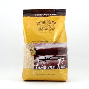 Lotus Foods Jasmine Brown Rice (12x32 Oz)